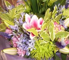 Mixed flower thank you bouquet