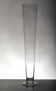Conical vase - height 60cm - £5.00